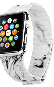 Landscape pattern Genuine Leather Gray Leather Leather Loop For Apple Watch 38mm / 42mm