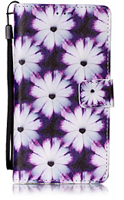 Hel kropp plånbok / Korthållare / Flip / Mönster Blomma PU-läder Hård Fallet täcker för Huawei Huawei P9 Lite