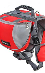 Dog Dog-Pack Haustiere Träger Wasserdicht Oxford rot / schwarz / blau / Orange