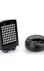 Fietsverlichting Achter Bike Light LED Oplaadbaar / Super Light 100 Lumens Batterij LED Zwart Fietsen-Anderen