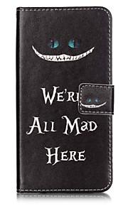 Ganzkörper Brieftasche / Kartenhalter / Flip Wort / Phrase PU - Leder Hart Fall-Abdeckung für Apple iPhone 7 plus / iPhone 7