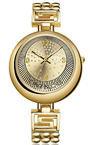 Damen Armbanduhr Quartz / Legierung Band Bettelarmband Gold Marke