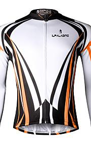 Ilpaladin Sport Men Long Sleeve Cycling Jerseys  CX708 Orange Cool