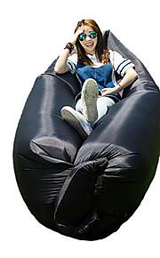 2016 Outdoor Rapid Inflatable Portable Air Beach Bed Camping Sofa Banana Sleeping Bag Beanbag Lazy Bag 1 Set