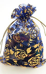 Smykketasker Nylon 1pc Pudebetræk / Sort / Blå