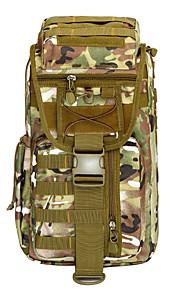 55 L Tourenrucksäcke/Rucksack Camping & Wandern Draußen Wasserdicht / tragbar / Atmungsaktiv Braun / Orange / Tarnfarben Oxford other