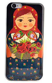 Coque Motif Carreau vernisé TPU Doux Couverture de cas pour Apple iPhone 6s Plus/6 Plus / iPhone 6s/6 / iPhone SE/5s/5