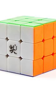 Dayan® Cube velocidade lisa 3*3*3 / apaziguadores do stress / Cubos Mágicos Branco Plástico