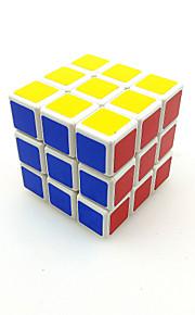 Glat Speed Cube 3*3*3 Hastighed Magiske terninger Ivory glat Sticker ABS