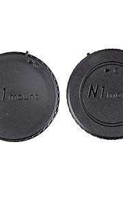 tampa do corpo dengpin traseira tampa da lente + câmera para Nikon J1 j5 v1 j2 v2 j4 v3 S1 S2