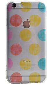 Coque Motif Ballon TPU Doux Couverture de cas pour Apple iPhone 6s Plus/6 Plus / iPhone 6s/6 / iPhone SE/5s/5