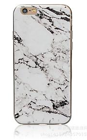 Per retro A fantasia Marmo TPU Morbido Copertura di caso per AppleiPhone 7 Plus / iPhone 7 / iPhone 6s Plus/6 Plus / iPhone 6s/6 / iPhone