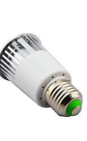 5 E14 / B22 / E26/E27 LED-spotpærer MR16 1 Høyeffekts-LED 450 lm RGB Dimbar / Fjernstyrt AC 85-265 V 1 stk.