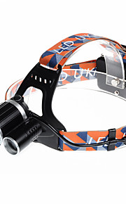 U`King® Headlamps Headlamp Straps LED 5000LM Lumens 4 Mode Cree XM-L T6 18650 Rechargeable Compact Size EmergencyCamping/Hiking/Caving