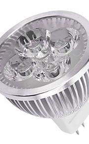 8W GU5.3(MR16) LED-spotpærer MR16 4LED Høyeffekts-LED 750LM lm Varm hvit / Kjølig hvit Dekorativ DC 12 V 1 stk.