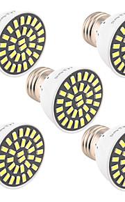 7W E26/E27 LED-spotpærer T 32 SMD 5733 500-700 lm Varm hvit / Kjølig hvit Dekorativ V 1 stk.