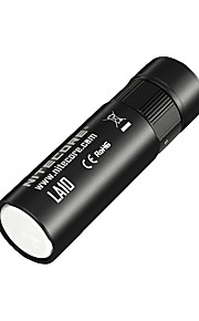 Nitecore® פנס LED LED 135 Lumens 3 מצב Cree AA Dimmable / ניתן לטעינה מחדש / גודל קומפקטי מחנאות/צעידות/טיולי מערות / שימוש יומיומי / חוץ
