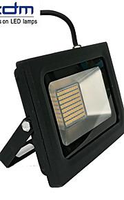 ZDM 60ワット3518x288pcs 5800lm防水IP68超薄型屋外照明キャスト光暖かい冷たい白/白(ac170-265v)