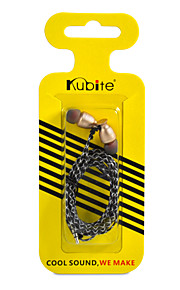 Kubite T-006J Ecouteurs Boutons (Semi Intra-Auriculaires)ForLecteur multimédia/Tablette / Téléphone portable / OrdinateursWithSports