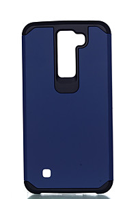Для Защита от удара Кейс для Задняя крышка Кейс для Один цвет Твердый PC LG LG K10 / LG K8 / LG K7 / LG G4 Stylus / LS770