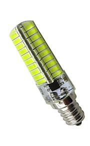 6 E12 LED-kornpærer Tube 80 SMD 5730 360 lm Varm hvit / Kjølig hvit Dekorativ AC 110-130 V 1 stk.