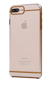 For Etui iPhone 7 / Etui iPhone 7 Plus / Etui iPhone 6 Ultratynn Etui Bakdeksel Etui Ensfarget Hard PC AppleiPhone 7 Plus / iPhone 7 /