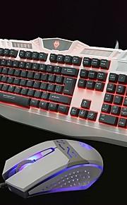 el traje de teclado del ratón juego de vuelta teclado o Internet luminosa cafetería para el teclado o el traje