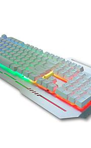 Ergonomic USB Wired Backlights Suspension Mechanical Keyboard