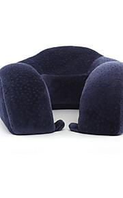 Travesseiro de Viagem para Descanso em Viagens Poliéster-Azul Escuro Café Rosa claro