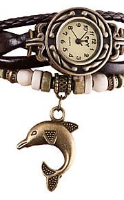 Mulheres / Infantil Relógio de Moda / Relógio de Pulso / Bracele Relógio Quartz / Quartzo Japonês / / Punk PU BandaBoêmio / Bracelete /