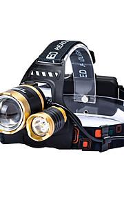 Освещение Светодиодные фонари LED 4800 lumens Люмен 4.0 Режим Cree T6 18650Фокусировка / Водонепроницаемый / Перезаряжаемый /