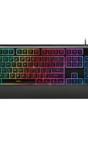 maquinaria pro (rapoo) V56 luz mixta apartados del juego de teclado negro
