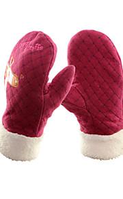 Winter Gloves / Mittens Kid's / Unisex Keep Warm / Windproof Ski & Snowboard / Snowboarding Fleece