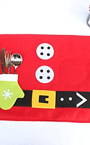 juldekoration jul kniv och gaffel dynor 34 * 45cm