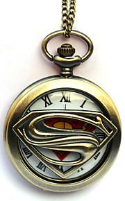 Relógio Inspirado por Fantasias Eren Jager Anime Acessórios de Cosplay Relógio Dourado Liga Masculino