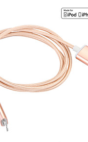 JDB® USB 3.0 Magnetlås Kabel Til Apple 100 cm Nylon