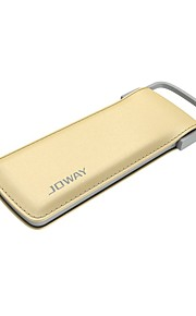 JP52 6000mah Ultra-slim Power Bank Portable Charger Pack with Built-In Micro USB Cable Light Weight Fast Chargin