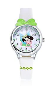 KEZZI Infantil Relógio de Moda Relógio de Pulso Relógio Casual Relógio Casual Quartzo Quartzo Japonês PU Banda Desenhos Animados Casual