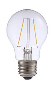 2W E26 LED-glødepærer A17 2 COB 200 lm Varm hvit Dimbar AC 110-130 V 1 stk.