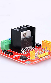Crab Kingdom® Crab Kingdom DIY Technology Model Production of Electronic Accessories L298N Motor Brive Module 01