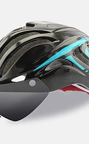 여성용 / 남성용 / 남여 공용 자전거 헬멧 18 통풍구 싸이클링 사이클링 / 산악 사이클링 / 도로 사이클링 원 사이즈 PC / EPS 옐로우 / 화이트 / 그린 / 블랙 / 블루