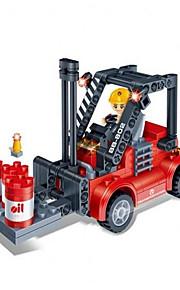 Blocos de Construir para presente Blocos de Construir Modelo e Blocos de Construção Empilhadeira ABS Vermelho / Preta Brinquedos
