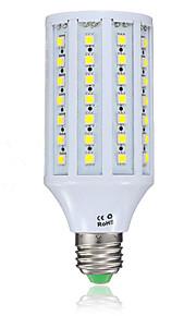 15W E26/E27 LED-kornpærer 86 SMD 5050 1200LM lm Varm hvit / Kjølig hvit V 1 stk.