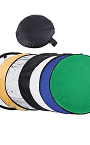 80cm 7 in 1 32 Colorful Portable Photography Studio Reflector Multi Photo Disc Collapsible Light Reflector