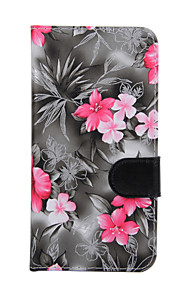 For Samsung S7 / S6 edge plus / S6 edge / S6 Case Cover Flowers PU Leather Mobile Phone Holster