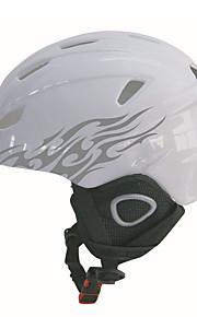 ヘルメット 男女兼用 ワンピース / スポーツ スポーツヘルメット スノーヘルメット PC / EPS / 炭素繊維 + EPS スノースポーツ