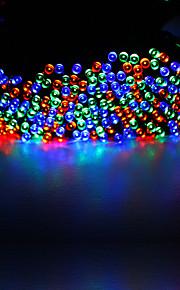 22m 200-ledede kjøle / varme / blå / multi hvit farge vanntett solar streng lys