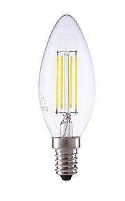 3.5 E14 LED-glødepærer B 4 COB 350/400 lm Varm hvit / Kjølig hvit Dimbar AC 220-240 V 1 stk.