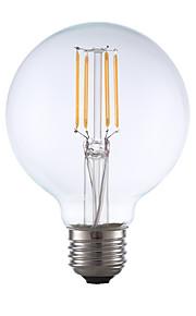 3.5 E26 LED-glødepærer G80 4 COB 350 lm Varm hvit Dimbar AC 110-130 V 1 stk.