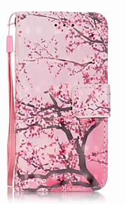 Cherry Tree 3D Painting PU Phone Case for apple iTouch 5 6
